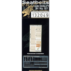 HGW 1/32 Fw 190A (Early) - Seatbelts | 132049