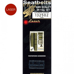 HGW 1/32 Luftwaffe Fighters (Late) - Seatbelts | 132502
