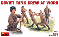 MiniArt 1/35 Soviet Tank Crew at Work | MA35017