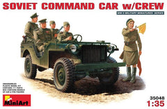 MiniArt 1/35 Soviet command car with crew | MA35048