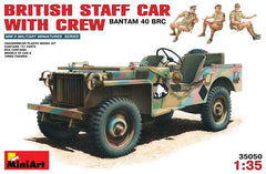 MiniArt 1/35 British staff car with crew Bantam 40 BRC | MA35050