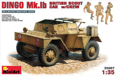MiniArt 1/35 British Scout Car DINGO Mk.Ib w/CREW | MA35067