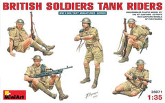 MiniArt 1/35 British Soldiers Tank Riders | MA35071