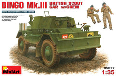 MiniArt 1/35 British Scout Car DINGO Mk.III w/CREW | MA35077