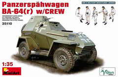 MiniArt 1/35 German Panzerspahwagen BA-64(r) with Crew | MA35110