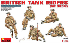 MiniArt 1/35 British tank riders (NW Europe) | MA35118