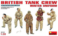 MiniArt 1/35 British Tank Crew Winter Uniform | MA35121