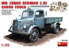 MiniArt 1/35 MB 1500S German 1,5t Cargo Truck | MA35142