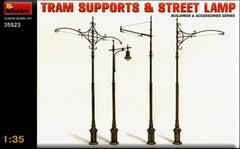 MiniArt 1/35 Tram Supports & Street Lamp | MA35523