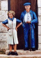 Nemrod 1/35 Man & Wife Civilians 1944  | 35056