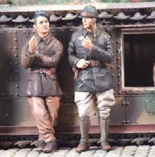 Nemrod 1/35 French Tank crew 1940  | 35062