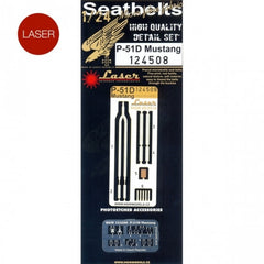 HGW 1/24 P-51D Mustang - Seatbelts | 124508