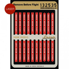 HGW 1/32 Remove Before Flight Belts | 132535