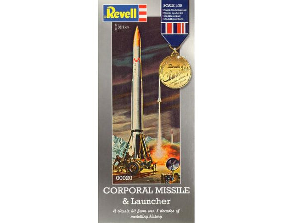 Revell 1/72 Corporal Missle & Launcher  |  00020