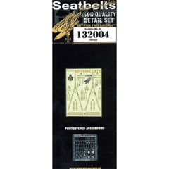 HGW 1/32 Spitfire (Late) - Seatbelts | 132004