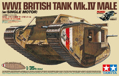 Tamiya 1/35 WWI British Tank Mk.IV Male | 30057