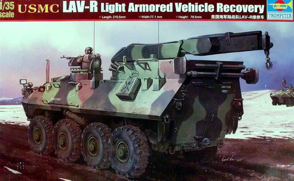 Trumpeter 1/35 USMC LAV-R Light Armored Vehicle Recovery | TRUM00370