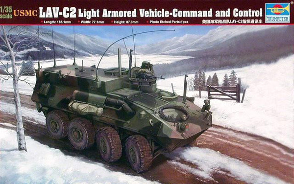 Trumpeter 1/35 USMC LAV-C 2 Light Armored Vehicle Command | TRUM00371