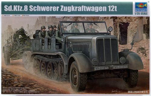 Trumpeter 1/35 German Sd.Kfz. 8 12 Ton heavy halftrack | TRUM01583