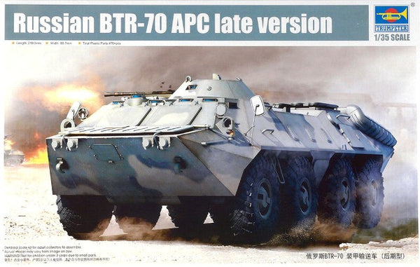 Trumpeter 1/35 Russian BTR-70 APC Late version | TRUM01591