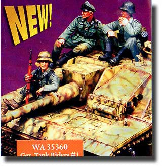 Warriors 1/35 German Tank Riders #1 for StuG III | 35360