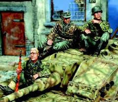 Warriors 1/35 Waffen SS Infantry Tank Riders Set No.1 | 35381