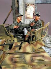 Warriors 1/35 Sd.Kfz.234/1 or 250/9 Crew | 35396