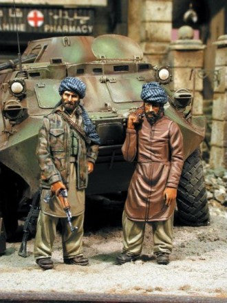 Warriors 1/35 Northern Alliance Mujahideen Fighters | 35424