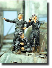 Warriors 1/35 Panther Crew, 1st SS Panzer Division, Normandy | 35455