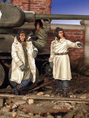 Warriors 1/35 Russian Tank Crew in Winter Dress | 35483