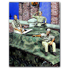 Warriors 1/35 Luftwaffe Stug Crew | 35492