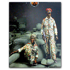 Warriors 1/35 T55 African Tank Crew | 35500