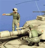Warriors 1/35 M1A1 Tank Crew Set #1 | 35527