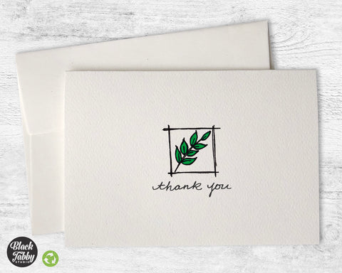 Framed Branch - Thank You Cards
