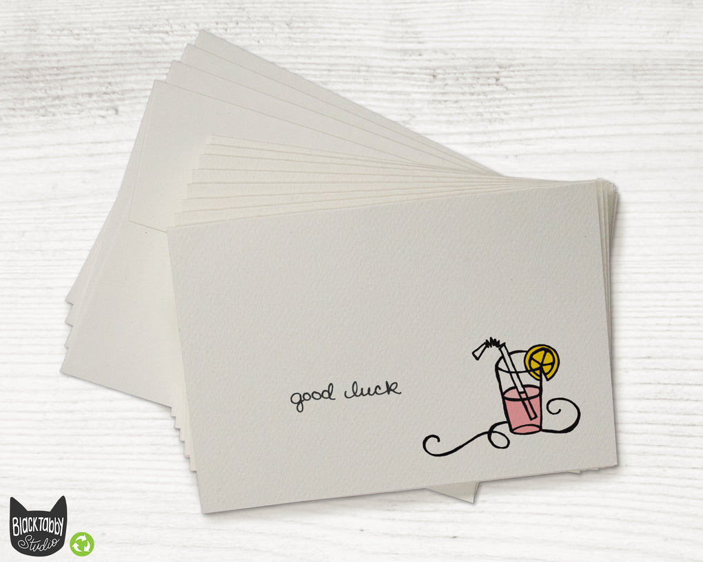 Copy of Pink Lemonade - CLEARANCE - Good Luck Cards