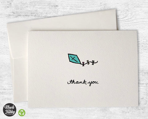Blue Kite - Thank You Cards