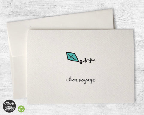 Blue Kite - Bon Voyage Cards