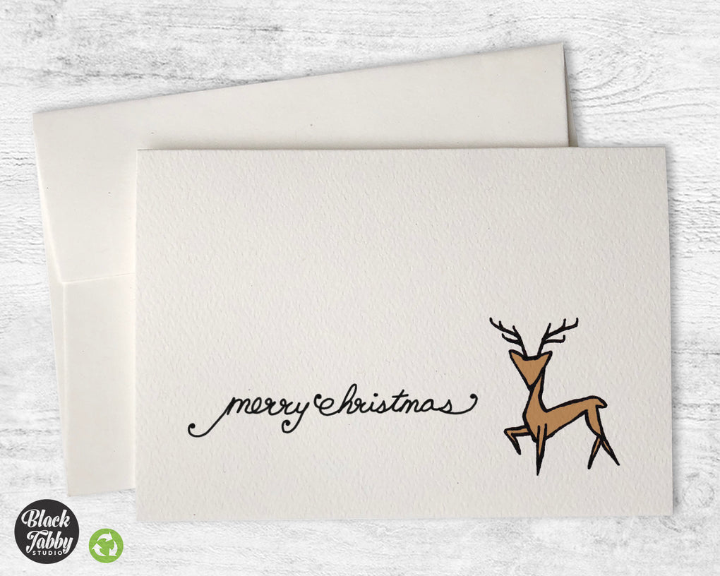 Majestic Reindeer - CLEARANCE - Merry Christmas Cards
