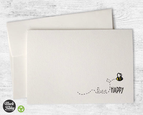 Bee Happy - Greeting Cards