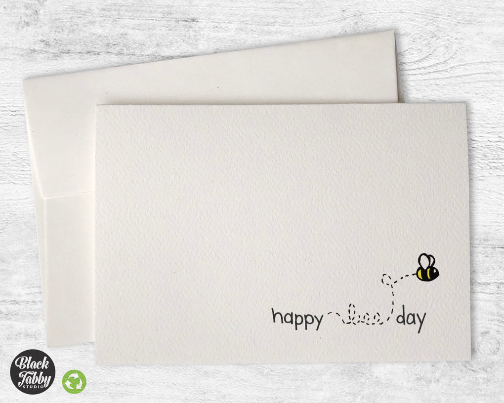 Happy Bee Day - Birthday Cards