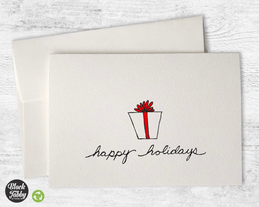 A Special Gift - CLEARANCE - Happy Holidays Cards
