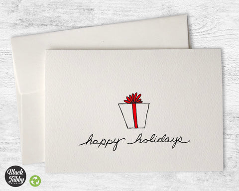 A Special Gift - Happy Holidays Cards