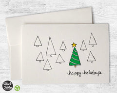 The Christmas Tree - Happy Holidays Cards