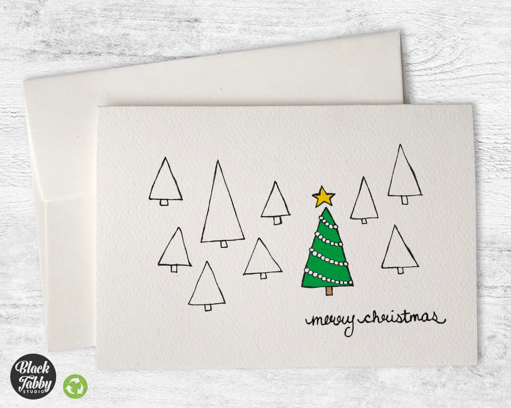 The Christmas Tree - CLEARANCE - Merry Christmas Cards