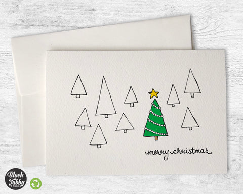 The Christmas Tree - Merry Christmas Cards