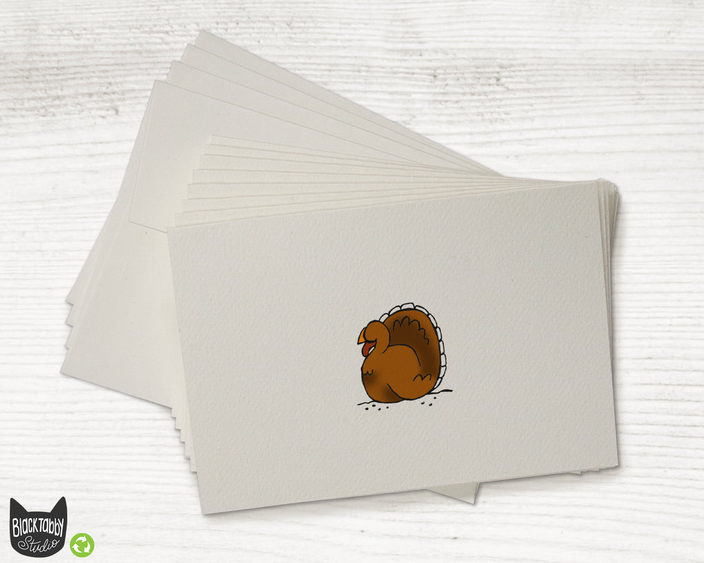 Gobble Gobble Turkey - Greeting Card Set