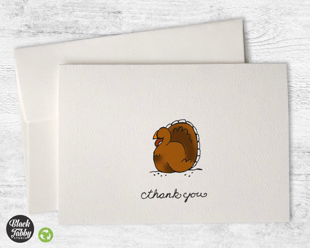 Gobble Gobble - Thank You Cards