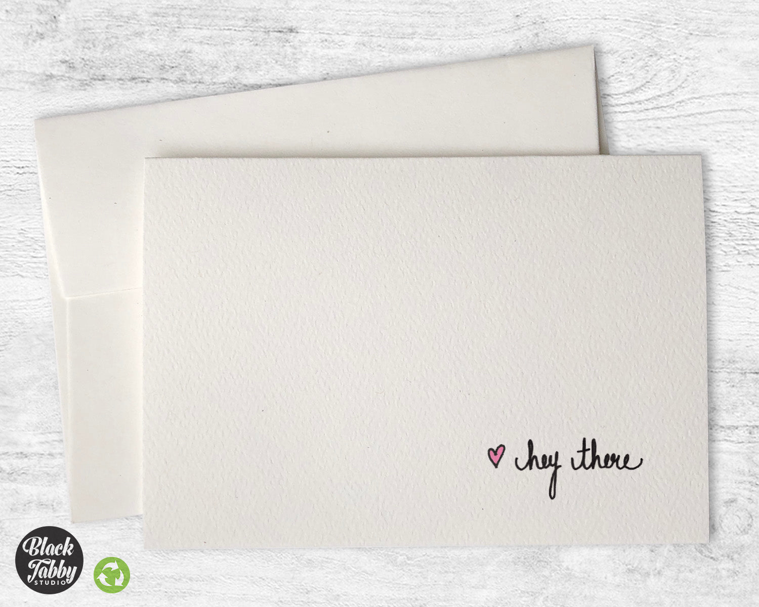 Hey there greeting cards black tabby studio m4hsunfo