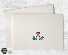 Birds in Love - Greeting Cards
