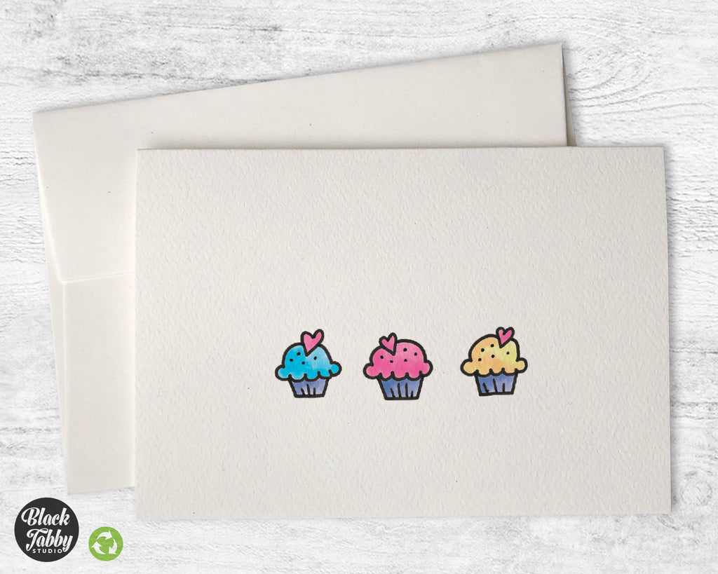 Sweet Little Cupcakes - Greeting Cards